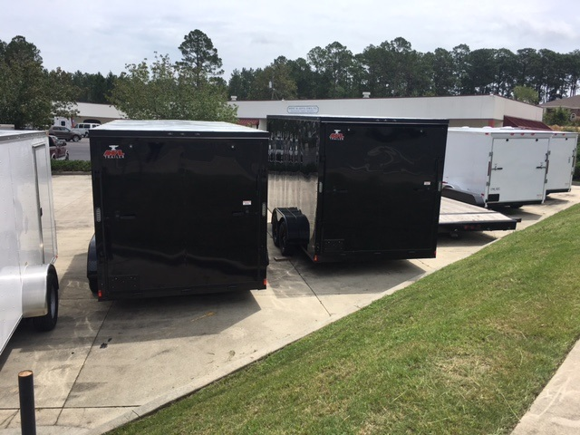 shore2shore trailer Anvil 6x12 Blackout $2975
