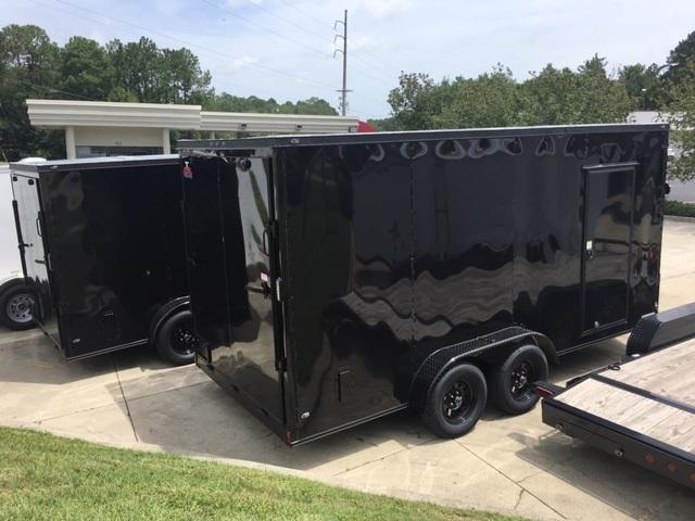 shore2shore trailer Anvil 6x12 Blackout $2975